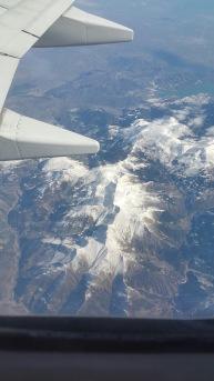 1 Bild inifrån flygplanet