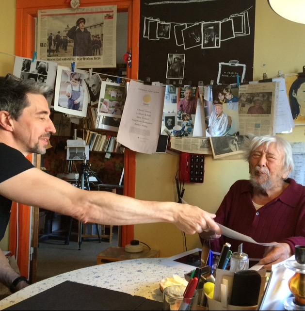 Besök hos Lutfi Özkök iElefanthuset