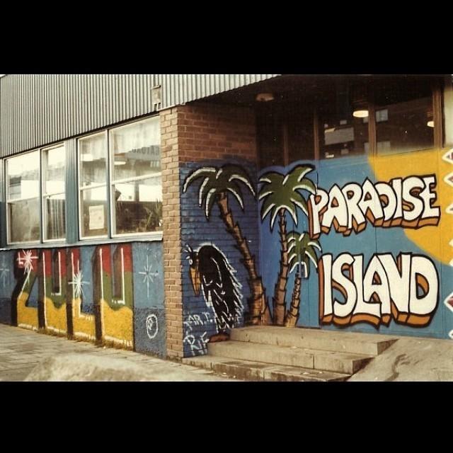 Paradise Island – Östberga har en lång historia avGraffiti.
