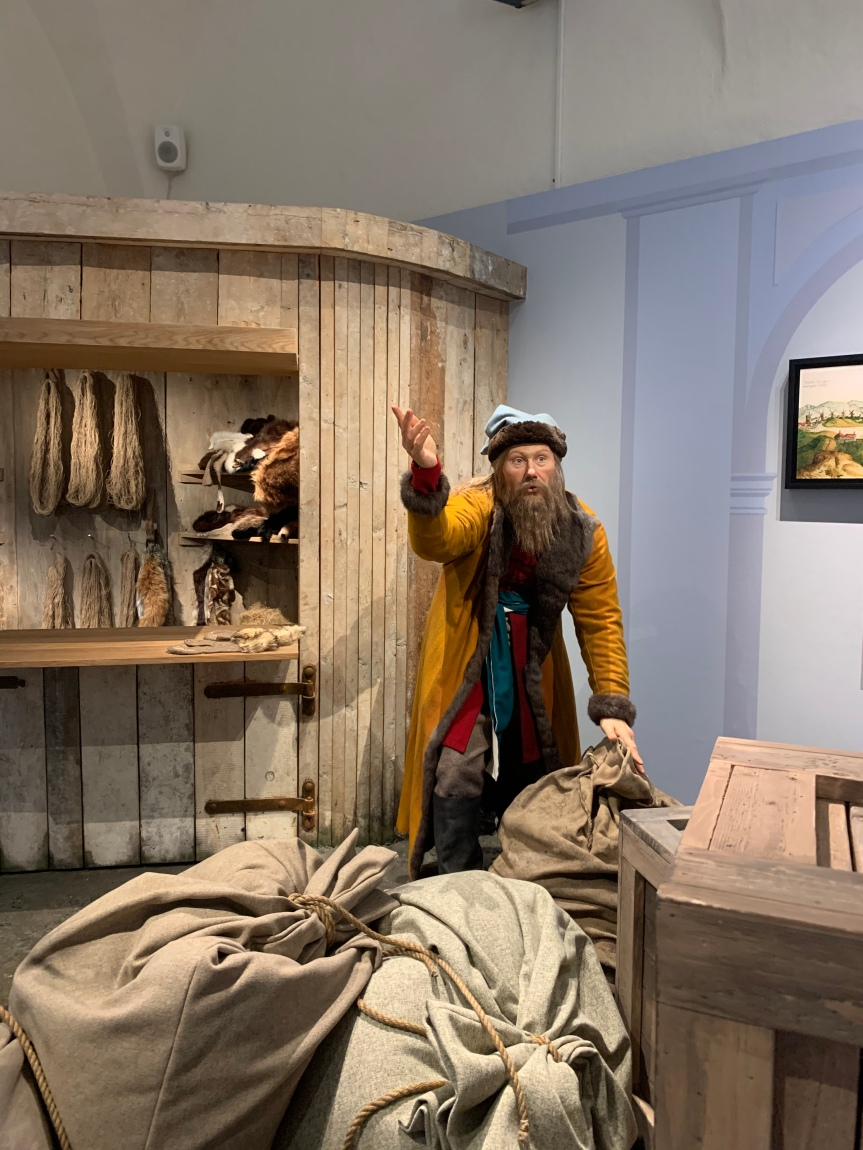 Besök på museet